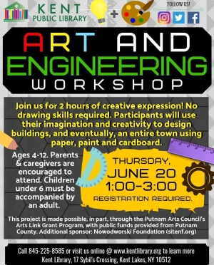 Art & Engineering Workshop Flyer