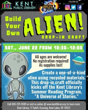 Build Your Own Alien Flyer