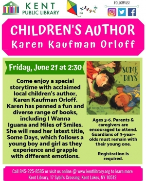Copy of Karen Kaufman Orloff Reading
