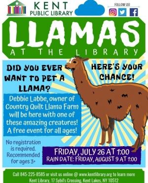 Llama's at the Library-1