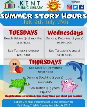 Summer 2019 Story Hours