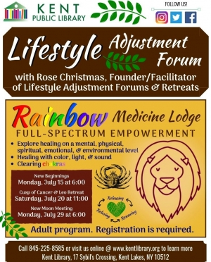 Copy of Copy of Copy of Copy of Lifestyle Adjustment and Forum with Rose Flyer