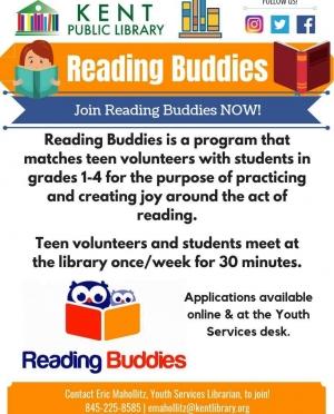 Reading Buddies Generic Flyer