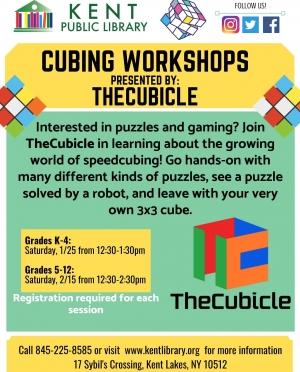TheCubicle Cubing Workshops