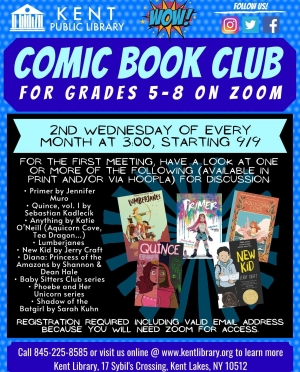 Middle School Comic Book Club